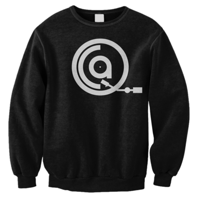 QCA Logo Black Sweater